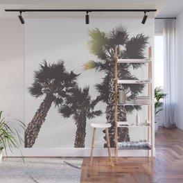 Vintage California Palms Wall Mural