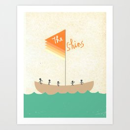 The Shins Art Print
