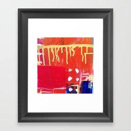 Rain 02 Framed Art Print