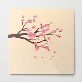 Cherry branch Metal Print