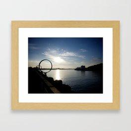 The Rings Framed Art Print