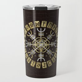 The helm of awe Travel Mug