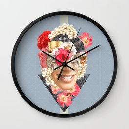 Doncella Collage Wall Clock