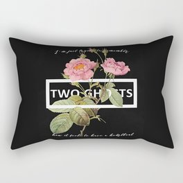 Harry Styles Two Ghosts graphic design Rectangular Pillow