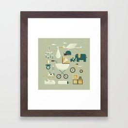 Baby's Nursery Framed Art Print