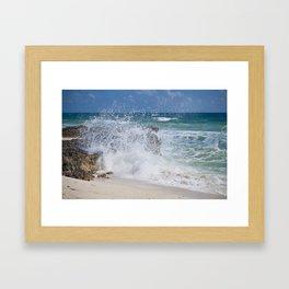 Cozumel Caribbean Coast Framed Art Print
