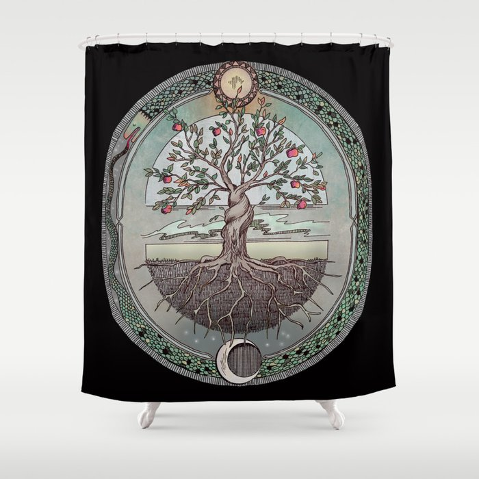 Origins Tree Of Life Shower Curtain