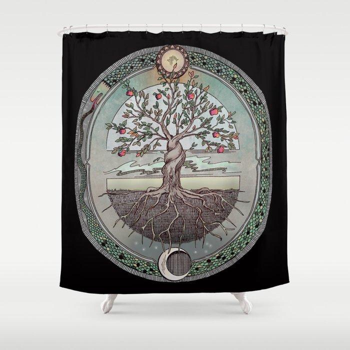 Origins Tree Of Life Shower Curtain