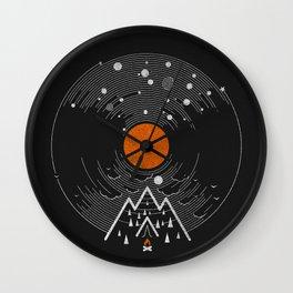 re/cordless Wall Clock