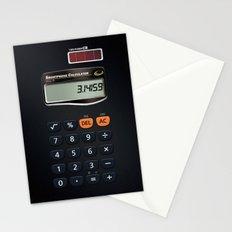 Smartphone Calculator Stationery Cards