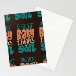 Baby Thighs Stationery Cards