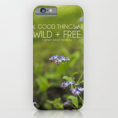 wild + free. iPhone 6s Slim Case