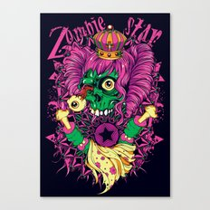 LSD Zombie star Canvas Print