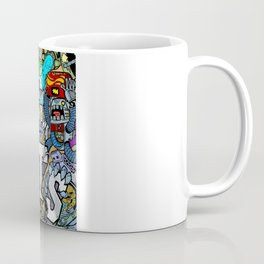 Doodle Robots (Hidden Doodles) Coffee Mug