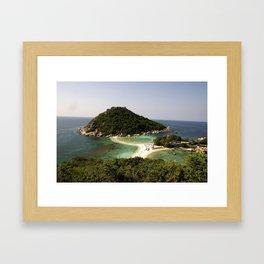 Koh Nang Yang Framed Art Print