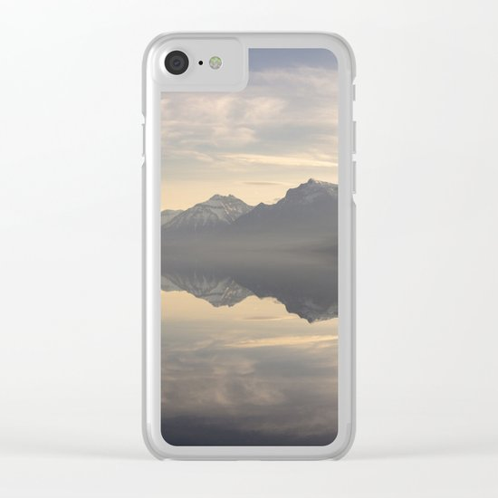 Landscape Reflections #mountain Clear iPhone Case