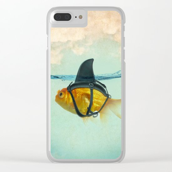 Brilliant Disguise Clear iPhone Case