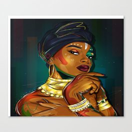 Unapologetic Canvas Print