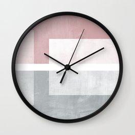 Case Study No. 1 | Rose + Gray Wall Clock