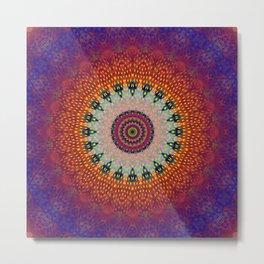 Mandala Harmony Metal Print