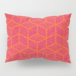 Kenna (Rubine Red and Orange) Pillow Sham