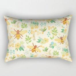 Honey Bees Rectangular Pillow