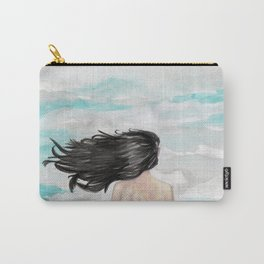 Wind in her hair Carry-All Pouch