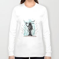 diver Long Sleeve T-shirts featuring DIVER by taniavisual