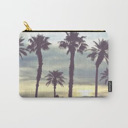 Los Angeles Sunset Palm Trees Carry-All Pouch