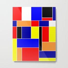 Mondrian #48 Metal Print