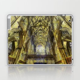 York Minster Van Gogh Style Laptop & iPad Skin