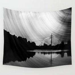Nature lake in swabia Wall Tapestry