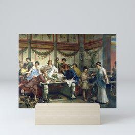 Roberto Bompiani A Roman Feast Mini Art Print
