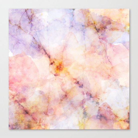 Marble Art 22 #society6 #buyart #decor Canvas Print