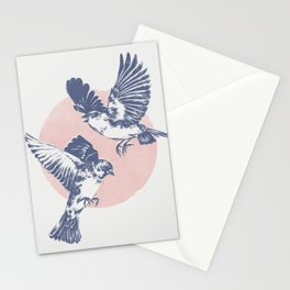 Sparrows II Stationery Cards