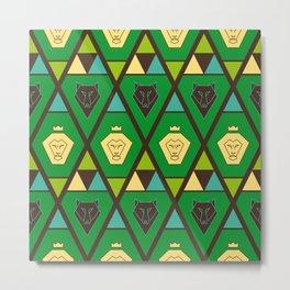 Royal pattern Metal Print