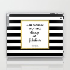 Coco Gold Classy & Fabulous Gold Print Laptop & iPad Skin