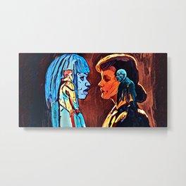 Joi And Rachel - double Metal Print