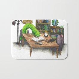 Little Worlds: The Library Bath Mat