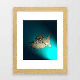 Piranha (Spot Lite) Framed Art Print