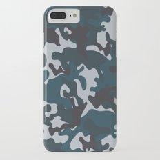 Blue Camo iPhone 7 Plus Slim Case