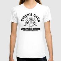 wrestling T-shirts featuring Tiger's cave wrestling school by CarloJ1956