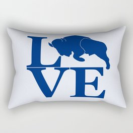 Lovin' Buffalo Rectangular Pillow