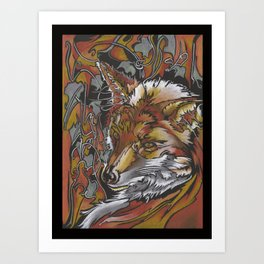 Forest Flame Art Print