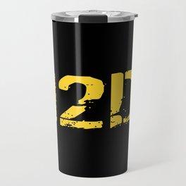 12D Diver Travel Mug