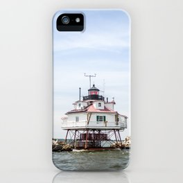 Thomas Point Light House iPhone Case