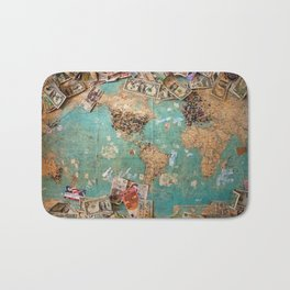 World Game Bath Mat