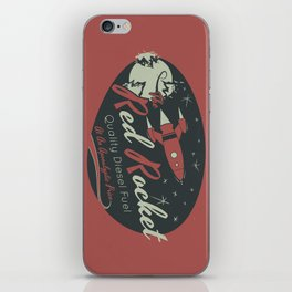 Red Rocket (Distressed) iPhone Skin