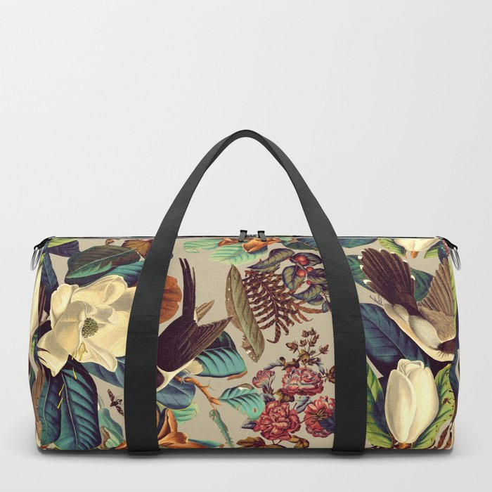 FLORAL AND BIRDS XXI-II Duffle Bag