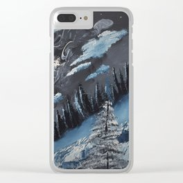 Winters Chill Clear iPhone Case